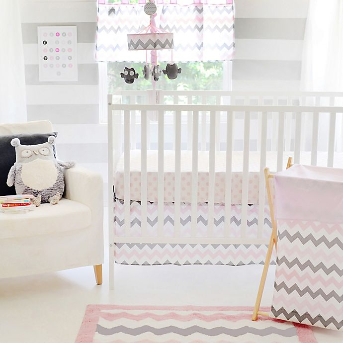 My Baby Sam Chevron Crib Bedding