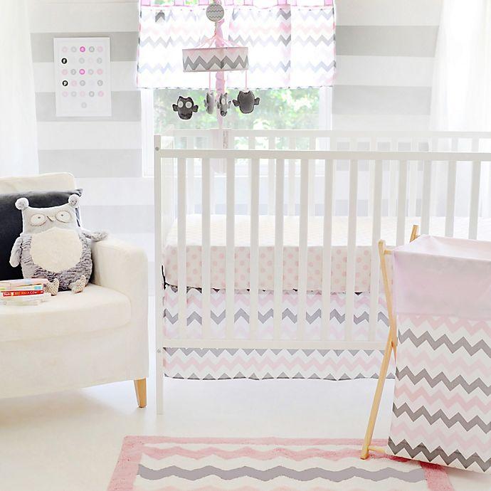 My Baby Sam Chevron Crib Bedding