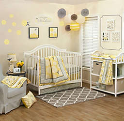 The PeanutShell™ Stella 4-Piece Crib Bedding Set
