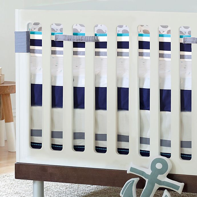 Just Born 174 High Seas Bedding Collection Fresh Air Crib