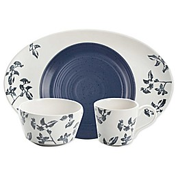 Bee & Willow™ Home Milbrook Dinnerware and Serveware Collection in Blue Floral