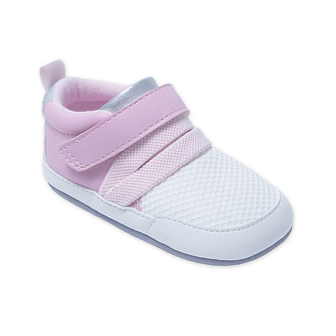 Alternate image 1 for ro+me by Robeez® Jill Athletic Sneaker in Pink