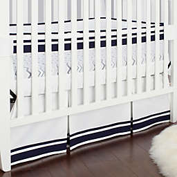 Just Born® Mix & Match Classic Collection Fresh Air Crib Liner in Navy