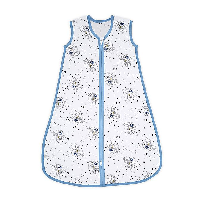 Alternate image 1 for aden + anais™ essentials Large Disney® Mickey Wearable Sleeping Bag in Blue