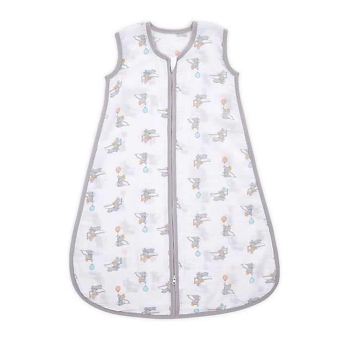 Alternate image 1 for aden + anais™ essentials Medium Disney® Dumbo Wearable Sleeping Bag in Grey