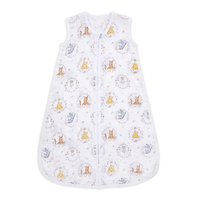 Alternate image 1 for aden + anais™ Essentials X-Large Disney® Winnie Sleeping Bag in Grey/Multi