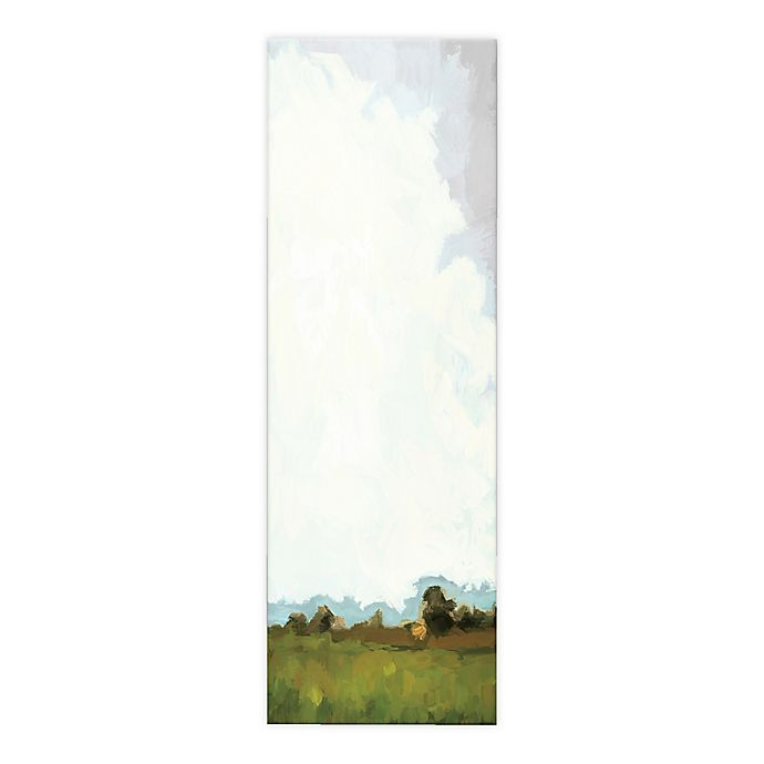 Alternate image 1 for Abstract Painted Landscape 12x36 Canvas