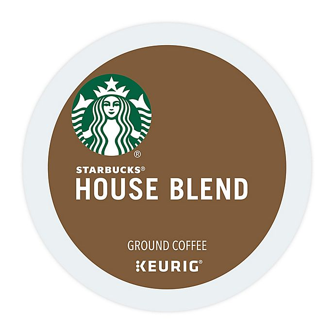 Alternate image 1 for Starbucks® House Blend Coffee Keurig® K-Cup® Pods 22-Count