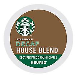 Starbucks® House Blend Decaf Coffee Keurig® K-Cup® Pods 22-Count