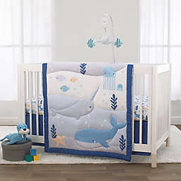 Little Love By NoJo® 3-Piece Underwater Adventure Crib Bedding Set in Light Blue