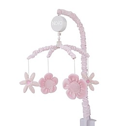 NoJo® Countryside Floral Musical Mobile in Pink