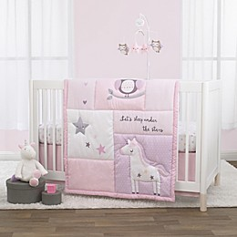 Little Love by NoJo® Shine On My Love 3-Piece Crib Bedding Set in Pink