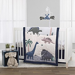 Little Love by NoJo® Roaming Woolly Mammoth Crib Bedding Collection<br />
