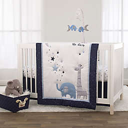 Little Love by NoJo® Shine On My Love 3-Piece Crib Bedding Set in Navy