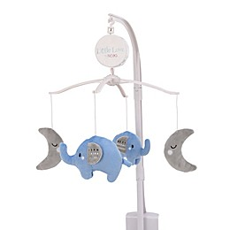 Little Love by Nojo Elephant Musical Mobile in Blue