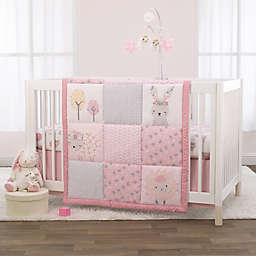 Little Love by NoJo® Farm Chic 3-Piece Crib Bedding Set in Pink