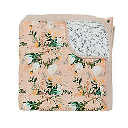 Loulou LOLLIPOP Blushing Protea Rayon Muslin Cotton Quilt