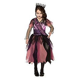 Prom Princess Zombie Child's Halloween Costume in Pink