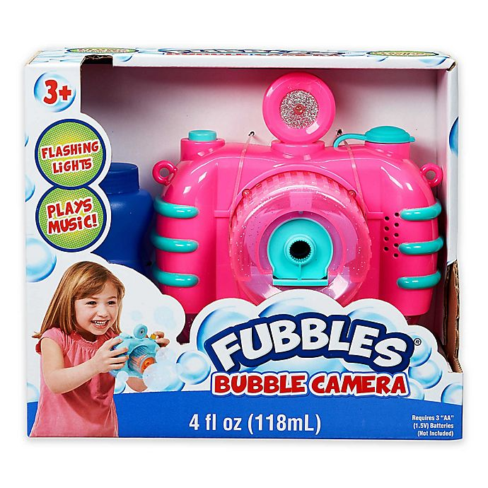 Alternate image 1 for Fubbles® Bubble Camera