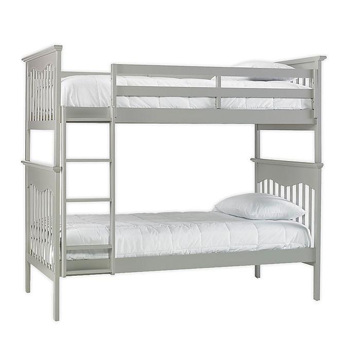 Alternate image 1 for TiAmo Mason Twin Over Twin Bunk Bed