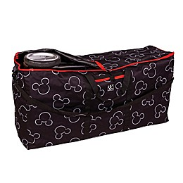 J.L. Childress Disney Baby® Gate Check Travel Bag for Single and Double Strollers in Black
