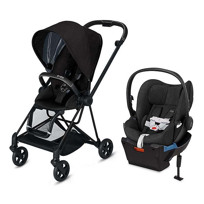 Alternate image 1 for CYBEX Platinum Mios and Cloud Q Travel System in Black