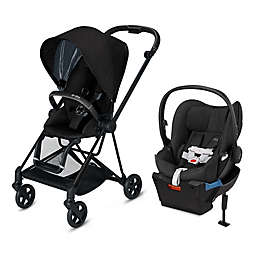 CYBEX Platinum Mios and Cloud Q Travel System in Black