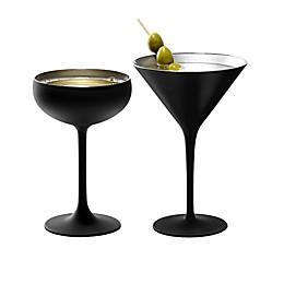 Stölzle Lausitz Olympia WIne & Bar Collection in Black/Silver