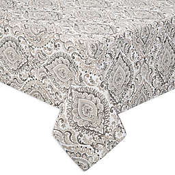 Watercolor Damask Indoor/Outdoor Table Linen Collection