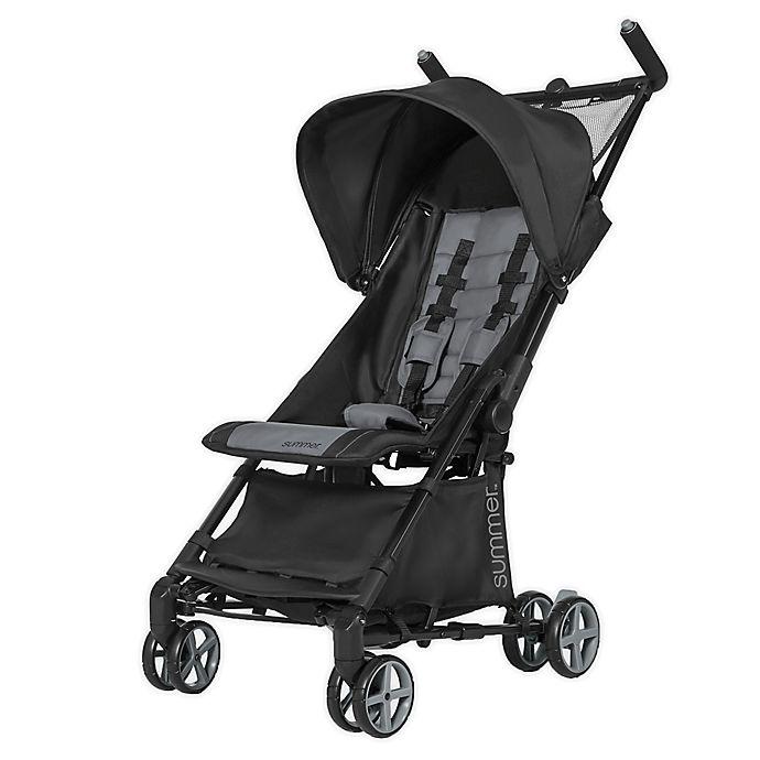 Alternate image 1 for Summer 3Dmicro Super Compact Fold Single Stroller in Black