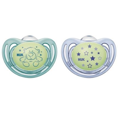 0-6 Months NUK Airflow Orthodontic Pacifiers Boy 2-Pack
