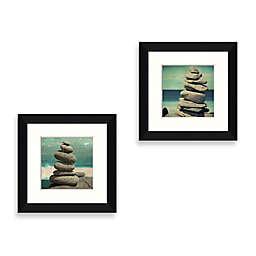 Ocean Stones Framed Wall Art