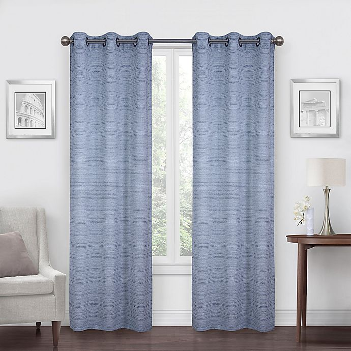 Alternate image 1 for SALT™ Benton 2-Pack Light Filtering Grommet Window Curtain Panels
