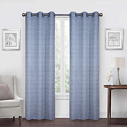 SALT™ Benton 2-Pack 108-Inch Grommet Window Curtain Panels in Navy