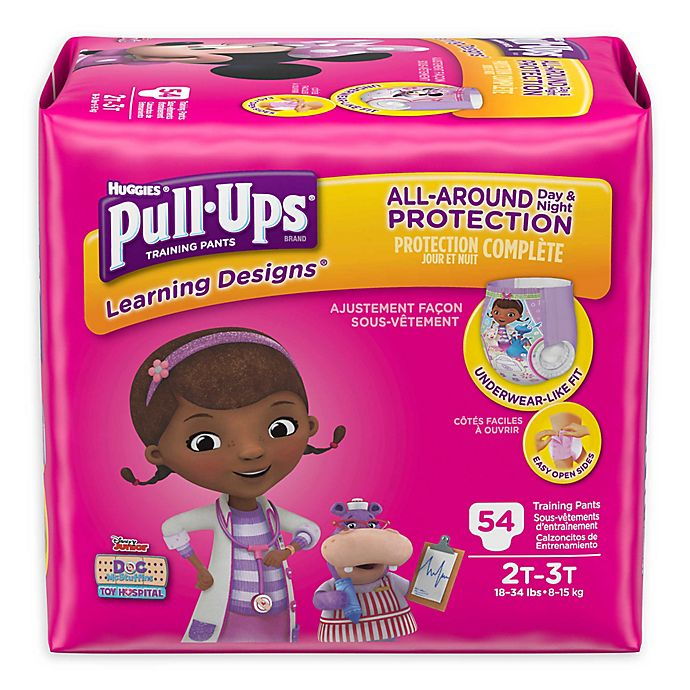 Alternate image 1 for Huggies® Pull-Ups® Training Pant Collection