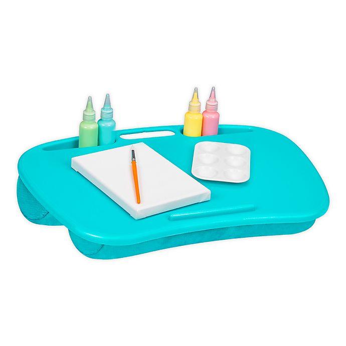 Alternate image 1 for LapGear® MyDesk Lap Desk in Turquoise