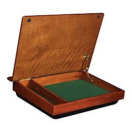 LapGear® SchoolHouse Lap Desk with Storage in Brown
