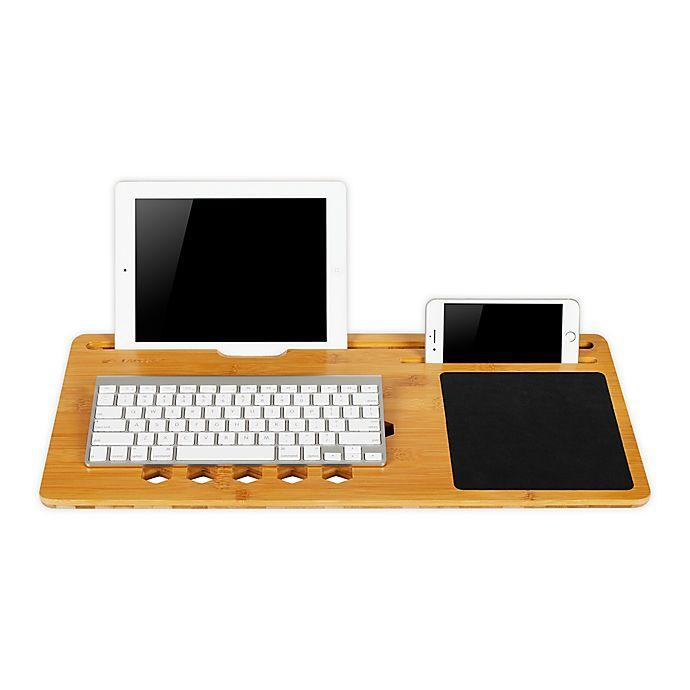 Alternate image 1 for LapGear® Bamboard Lap Desk in  Natural Bamboo
