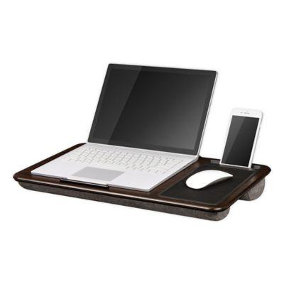 LapGear® Home Office Lap Desk in Chesnut Woodgrain