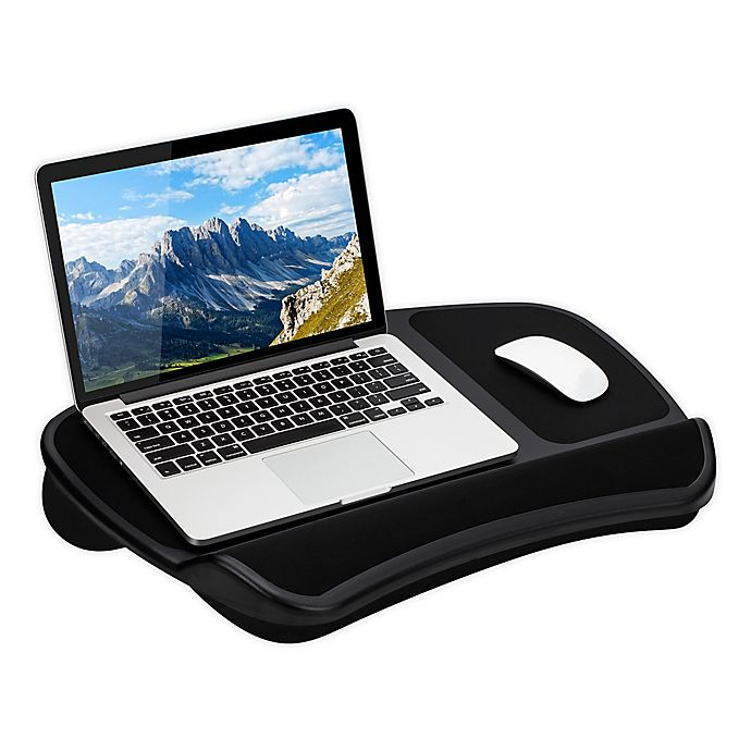 Alternate image 1 for LapGear® Laptop Lap Desk in Black