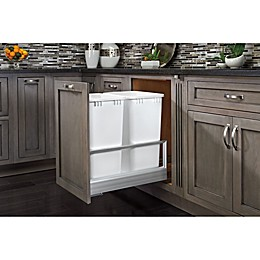 Rev-A-Shelf® Pull-Out Double Waste Container with Rev-A-Motion