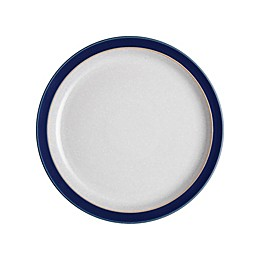 Denby Elements Salad Plate in Dark Blue