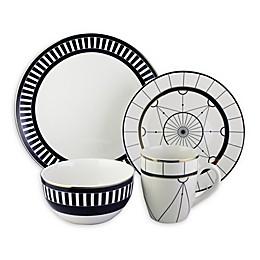 Elle Decor Compass 16-Piece Dinnerware Set