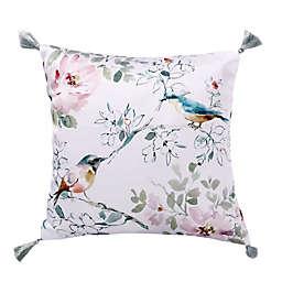 Levtex Home Brixton Floral Bird Square Throw Pillow