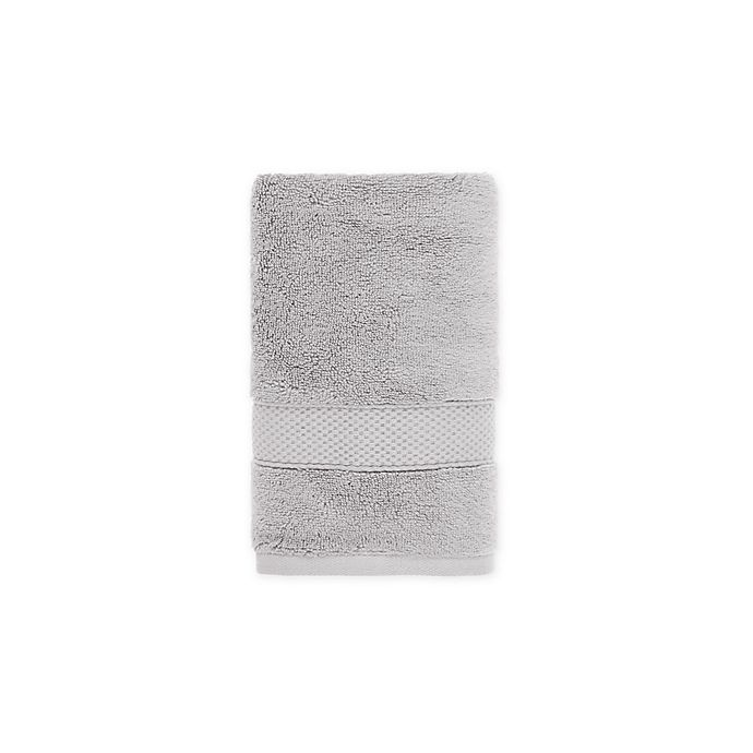 Alternate image 1 for O&O by Olivia & Oliver™ Turkish Modal Hand Towel in Grey