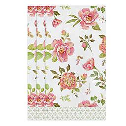 Fancy Floral 32-Count Paper Guest Towels