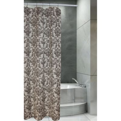 taupe shower curtain bed bath beyond