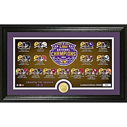 College Football LSU 19 CFP Championship Pano Photo