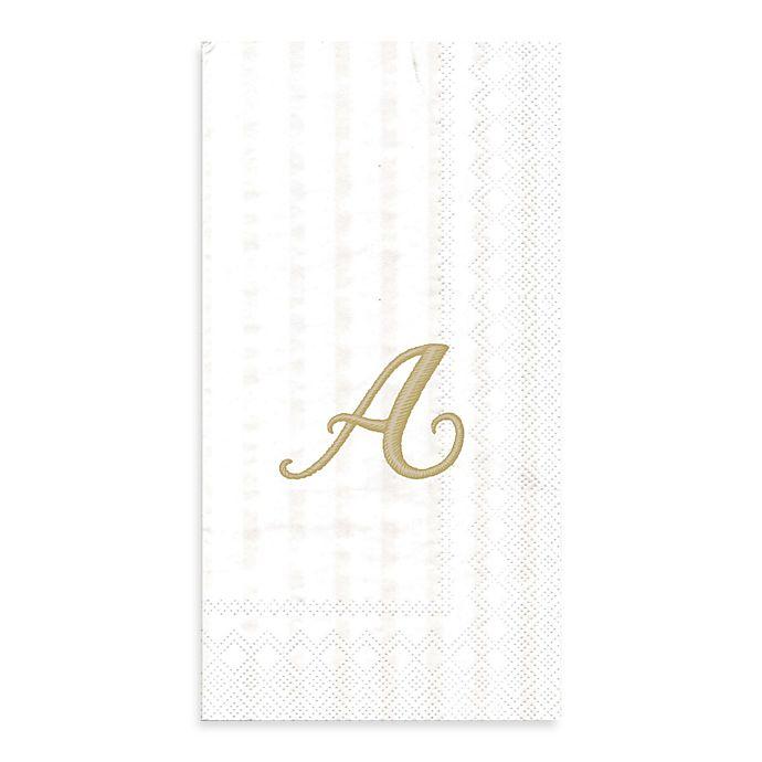 Alternate image 1 for Paper Monogram Letter \