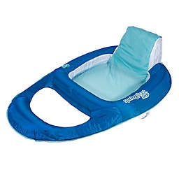 SwimWays® Spring Float Sit-Up Pool Recliner in Blue